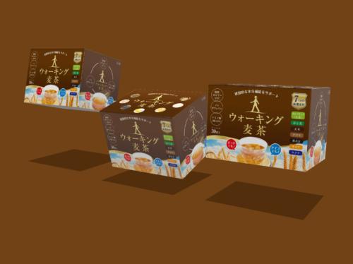 【Dimension ディメンション】箱のモックアップを作成