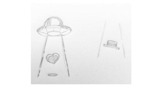 ロゴの手書きラフ案