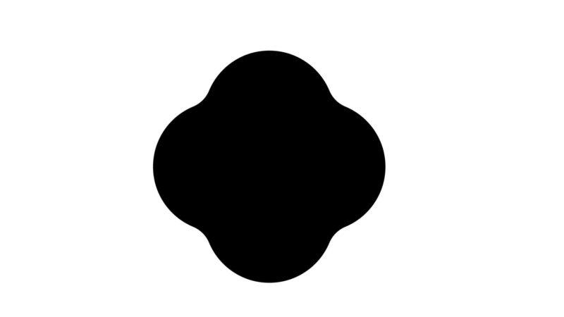 イラストレーター 白い選択ツールで角を丸く
